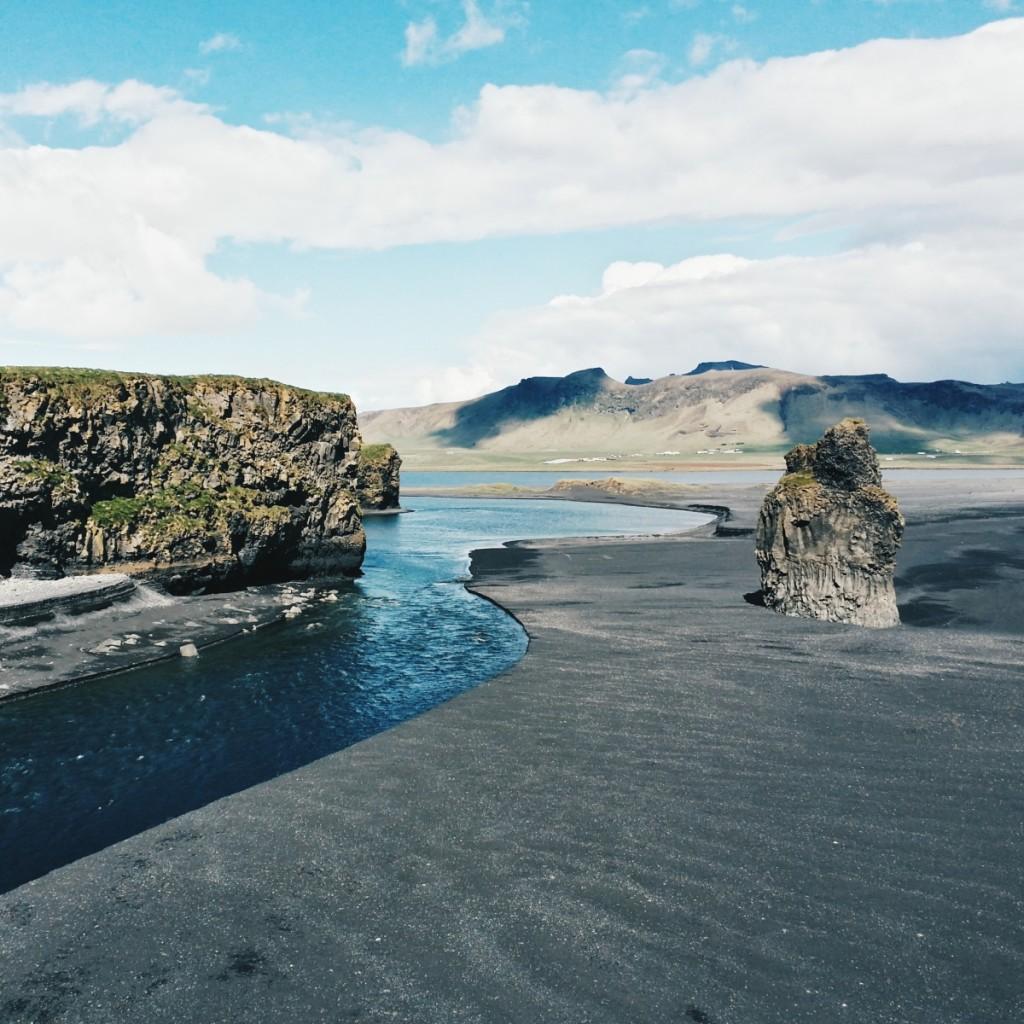 Black Beach, Islandija