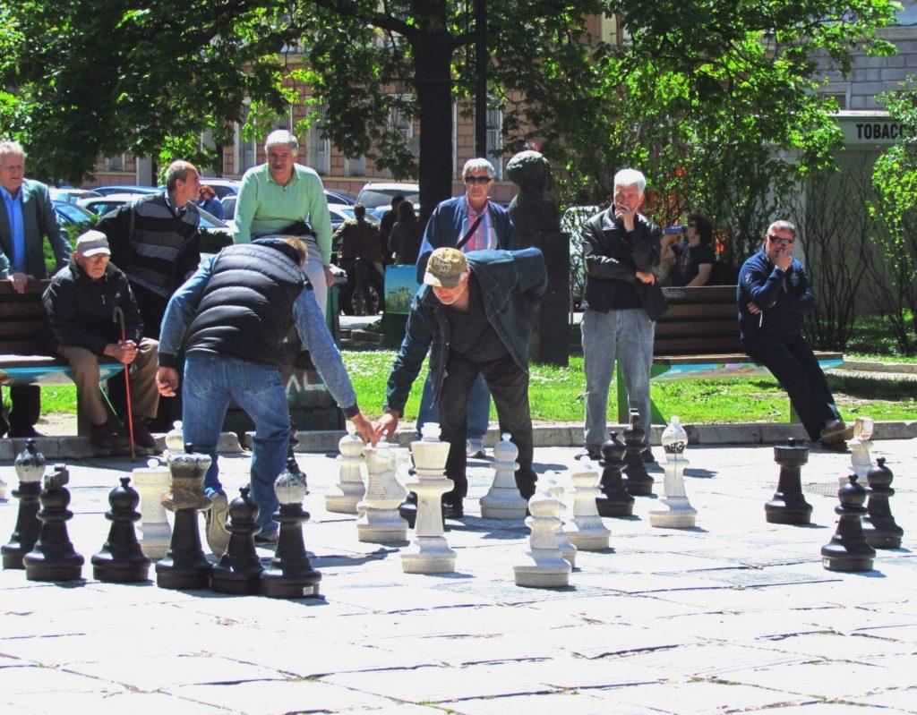 Različne igre so priljubljeno kratkočasje sarajevskih mož.