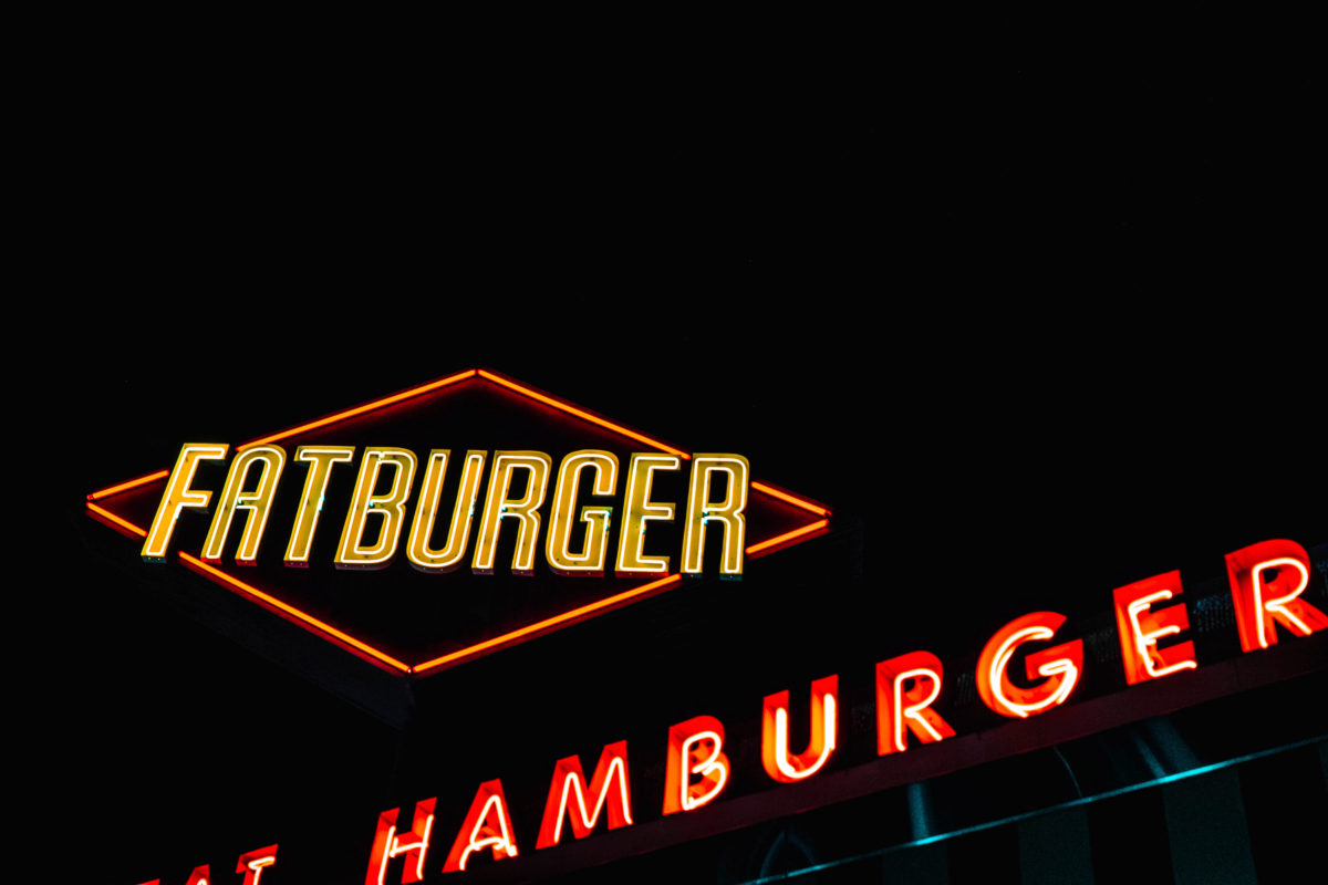 Los Angeles - food - Fat burger