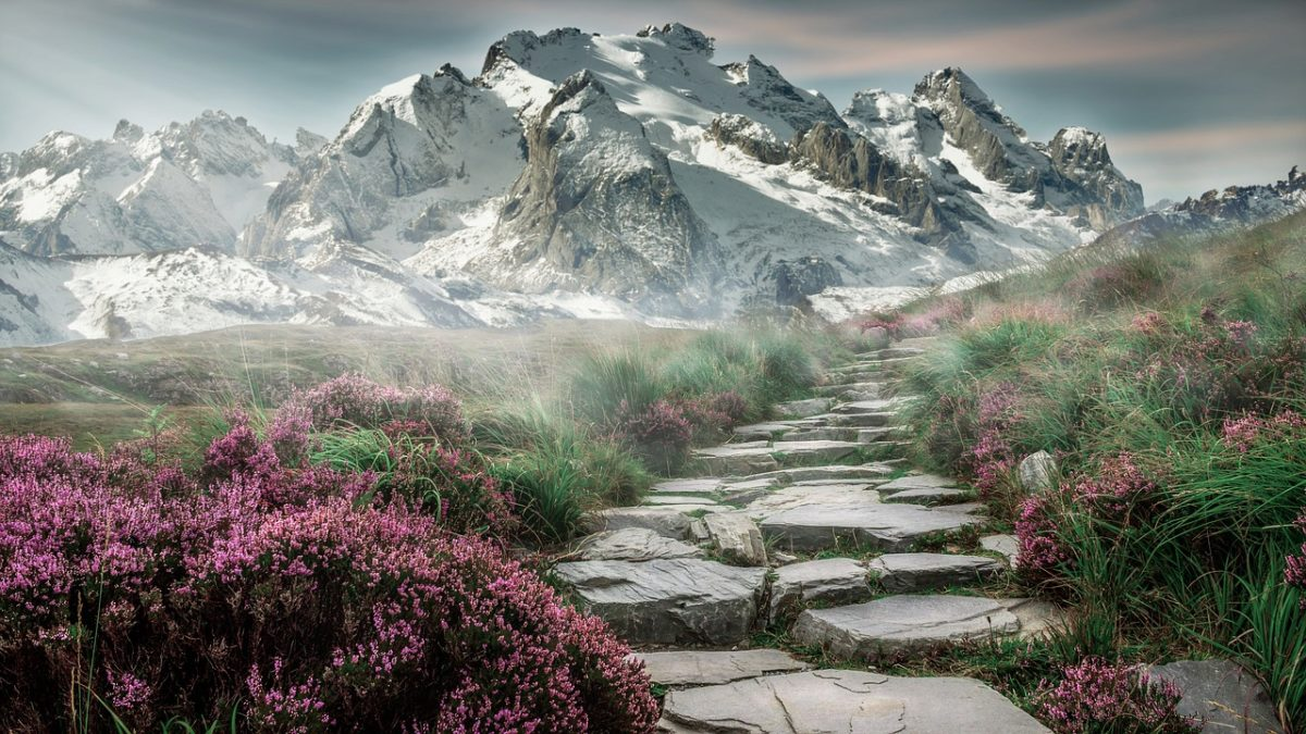 landscape - hiking - magic