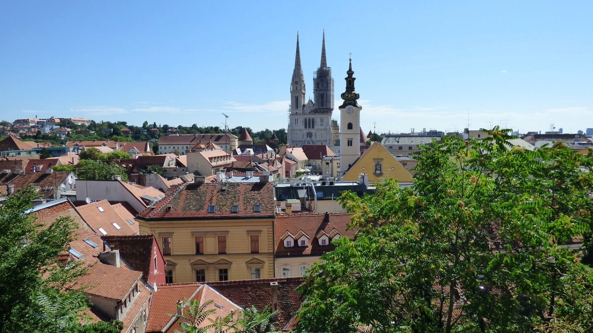 zagreb - old town